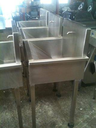 highlands trout stainless steel wash basins